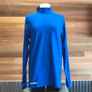 Under Armour like new 2X mock compression top